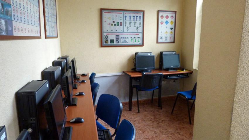 Zona de ordenadores