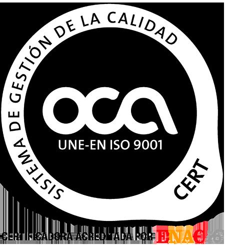 OCA Cert ENAC