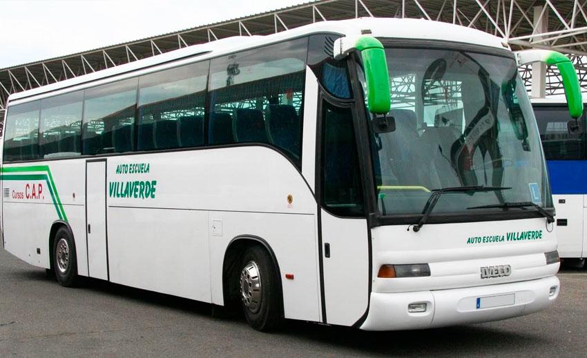 Autobús Autoescuela Villaverde