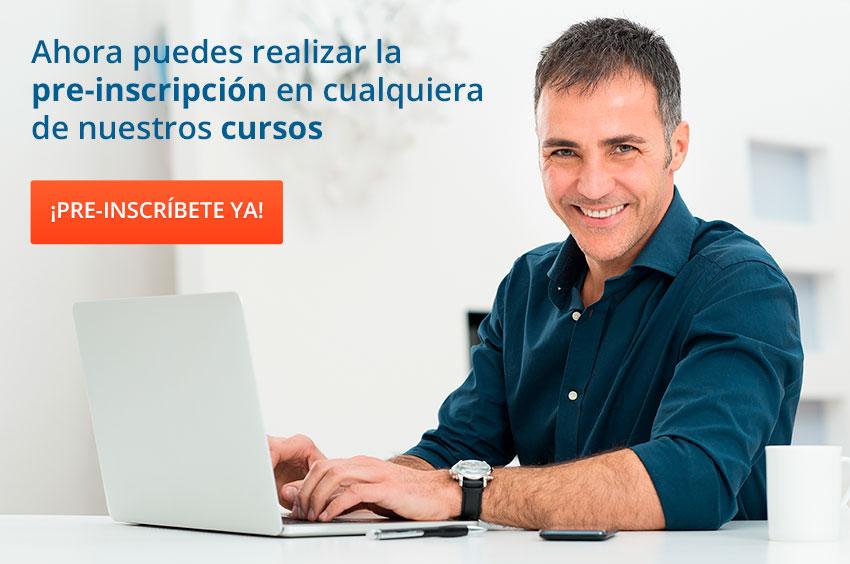 Preinscripcion cursos Autoescuela Villaverde